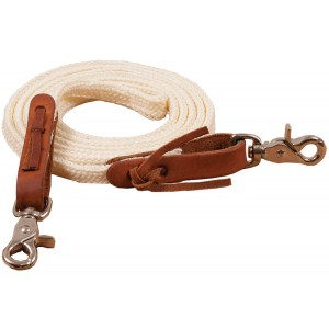 "1/2"" x 7' Poly Braided Roping Reins"